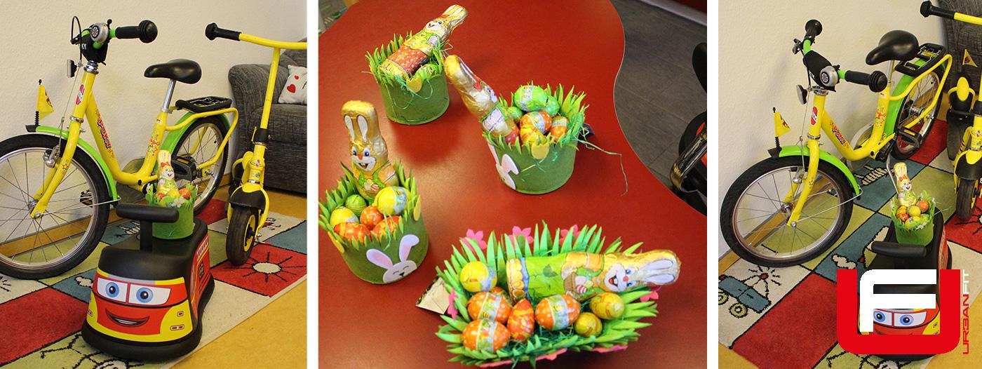 Spende zu Ostern an das Kinderheim